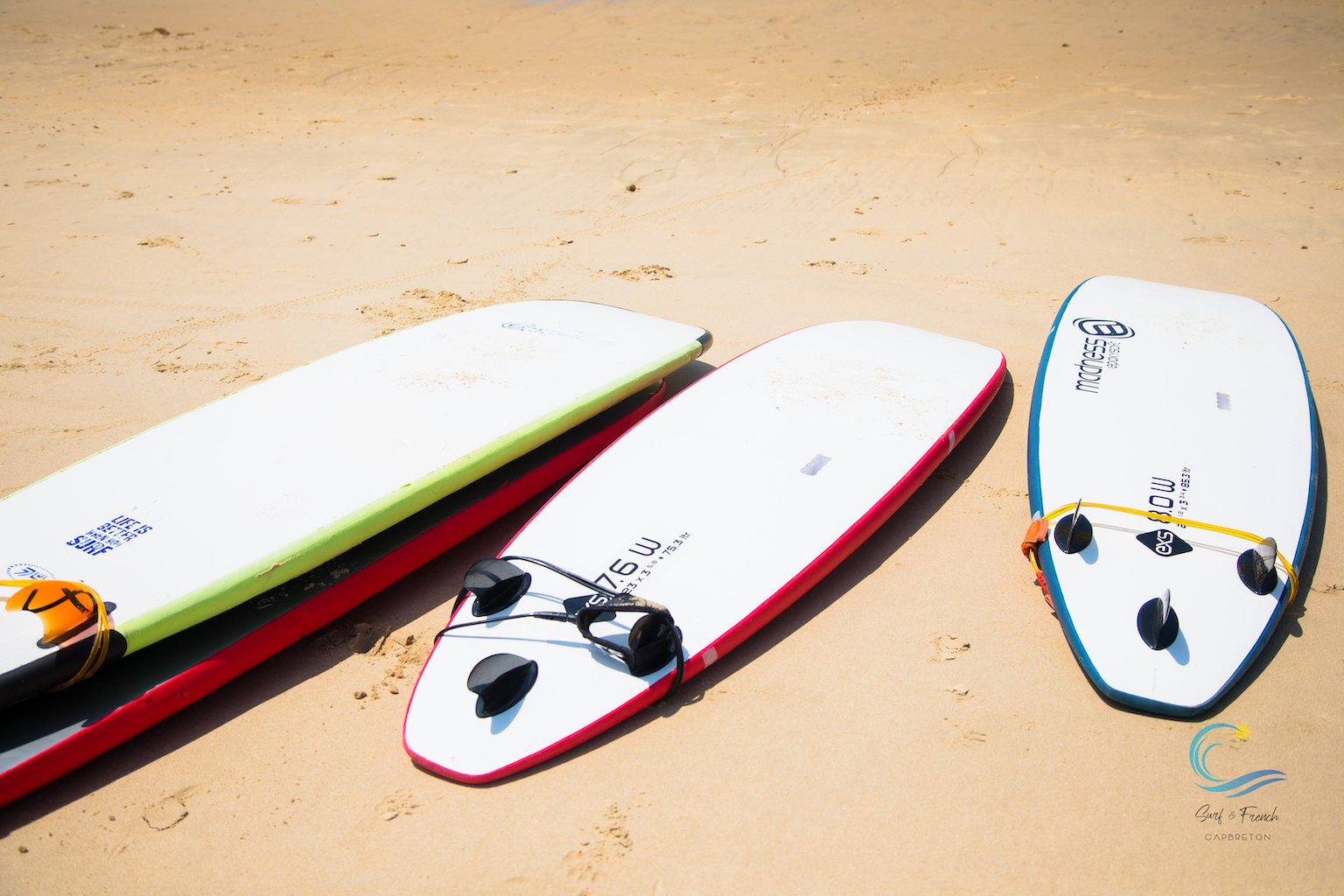 Surf's on!